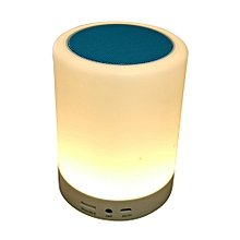 Portable Wireless Smart Bluetooth Speaker With Colorful LED Desk Lamp