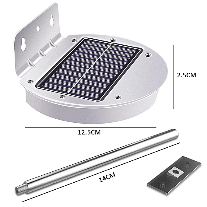 Generic 28 Led Solar Lights Outdoor With Mounting Pole 2