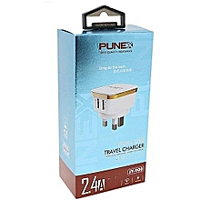 Punex Dual Travel Charger