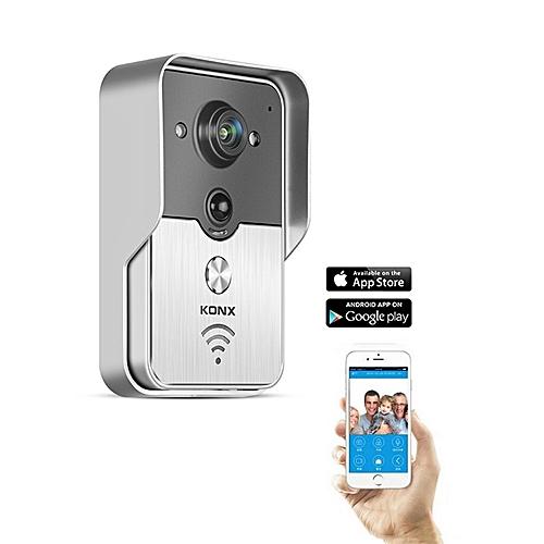 Wireless Video Door Phone Intercom Doorbell Peehole Camera Remote Unlock IR  Alarm Android IOS