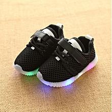 New Stylish Baby's Led Lighting Sports Running Shoes