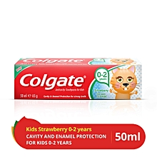 Tooth Paste - StrawBerry - 0-2yrs - 50ml