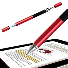 YBC 2 in 1 Stylus Ballpen Metal Capacitive Ballpoint Pen for Touch Screen iPhone iPad Tablet (MY)