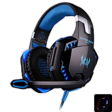 Fashion EACH G2000 Gaming Headset With Hidden Mic For Computers Game(WHITE)