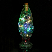 Wine Bottle Cork Shaped String Light 20 LED Night Fairy Light Lamp
