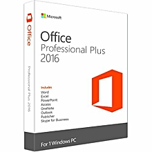 Office Professional Plus 2016 32 / 64 Bit  Product Key Only