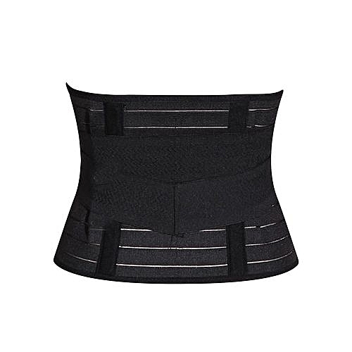 e25401ed032bb Kay Post Natal Slimming Tummy Belt - Black   Best Price