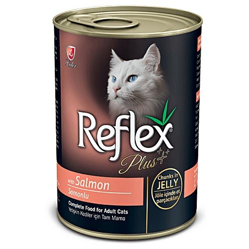 Plus Cat Salmon Chunks In Jelly 400g