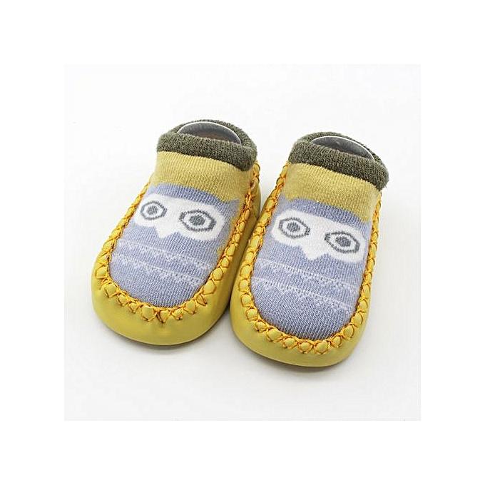 2081f4b6becd Braveayong Cartoon Newborn Baby Girls Boys Anti-Slip Socks Slipper Shoes  Boots -B 13 ...