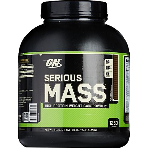 OPTIMUM NUTRITION Serious Mass Weight Gainer Protein Powder, Chocolate-6lLB