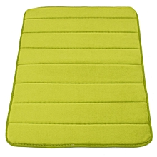 Memory Foam Bath Bathroom Bedroom Floor Shower Mat Rug Non-slip Water Absorbent Grass green