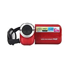 Olivaren 1.5 Inch TFT 16MP 8X Digital Zoom Video Camcorder Camera HD DV RD -Red