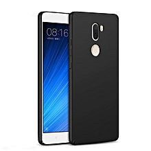 Ultra Slim Fit Shell Hard Plastic Full Protective Anti-Scratch Resistant Cover Case for Xiaomi Mi 5s Plus (Silky Black) XBQ-A