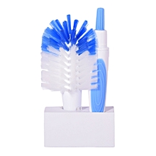 Bottle & Teat Brush - Boy - Blue