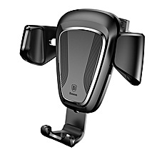 Baseus Gravity Car Phone Holder For iPhone Xs Max X Samsung S9 Air Vent Mount Mobile Phone Holder Stand Holder For Phone In Car  LIMEI
