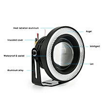A Pair/Set 64mm/76mm/89mm 30W Bright LED COB Angel Eyes Daytime Running Light