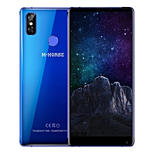 M - HORSE Pure 2 4G Phablet 5.99 inch Android 7.0 MTK6750 Octa Core 4GB RAM 64GB ROM Dual Rear Cameras-BLUE