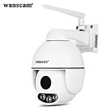 WANSCAM HW0054 1080P 2.0MP WiFi IP Camera Wireless Security Surveillance CCTV ONVIF / P2P / Motion Detection  WHITE US