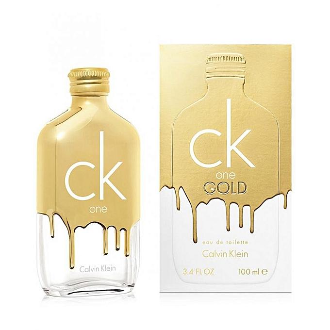96ab385032 CALVIN KLEIN CK One Gold Unisex EDT-100ml   Best Price