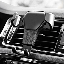 Gravity Reaction Car Mobile phone holder Clip type air vent monut GPS car phone holder for iPhone 8 7 6 6s Plus Samsung S7 S8 S9 LIMEI