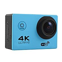 Soocoo F60 Sport Action Camera 4K WiFi Allwinner V3 Chipset OV4689 16.0MP HD Image Sensor For Outdoor Activities Blue