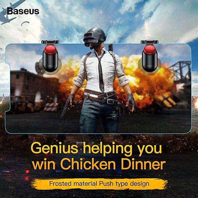 BASEUS PUBG G9 Shooting Game Controller Trigger Shooter Assist Tools Button  Aim Key Joystick xYx-S