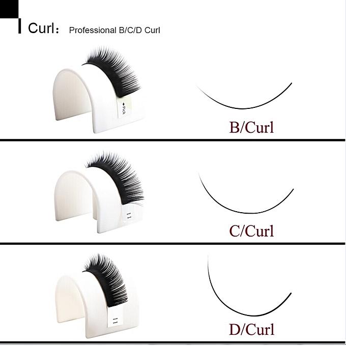 4dd6b87e140 ... All Sizes Eyelash Extension B C D Individual Eyelashes Mink 8-15mm Clic  & Volume Lash Extension ...