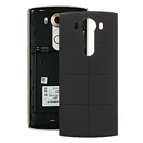 best cheap b8d68 34ab0 IPartsBuy Gird Texture Battery Back Cover For LG V10
