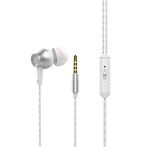 Xiuxingzi_Universal 3.5mm In-Ear Stereo Earbuds Earphone With Mic For Cell Phone SL