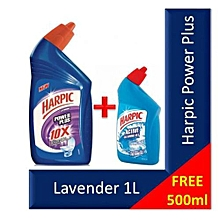 Buy Harpic 1L Get 500ml Marine FREE - Super Value Pack