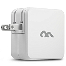 Comfast CF - WR350N WiFi Repeater Signal Wireless 300mbps Network Router Expander with Cell Phone Charger WHITE US PLUG