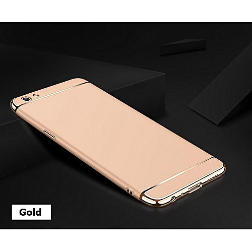 100% authentic 67a86 4dc81 For OPPO A71K Case 3 In1 Full Protection Hard Matte Plating Casing Phone  Cover For OPPO A71 K Housing 298080 c-3 (Color:Main Picture)