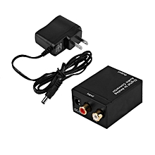 Digital to Analog Audio Converter Adapter to Analog L/R Audio Converter RCA