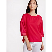 Pink Fashionable Blouse