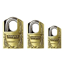 Top Anti-Burglar Theft Zinc Alloy High Security Padlock with 3 Keys
