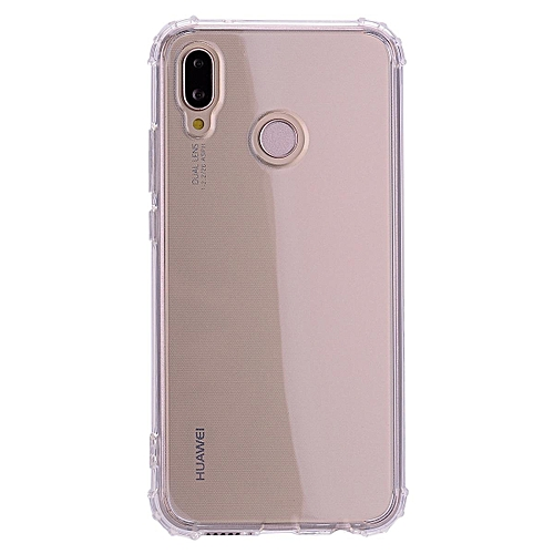 new styles 2225d 84513 Huawei P20 Lite Case,Ultra Slim Transparent Clear Soft Silicone TPU Shock  Absorption Bumper Full Protective Cover Case For Huawei P20 Lite/Nova 3e ...