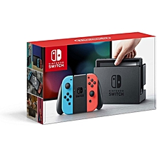 Switch Console with red and blue