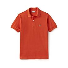 Orange Classic Polo