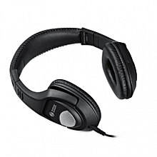 ZM-Rocker Flame - ZOOOK Wired Headphones with a Mic -  Black