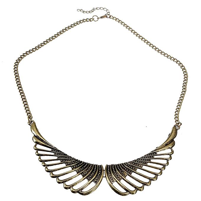 Fashion Joker Wing Fake Collar Statement Necklace Chain Women Jewelry c59e1d4f6c