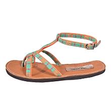 Flip Flop Sandals with spider straps - Multicolour