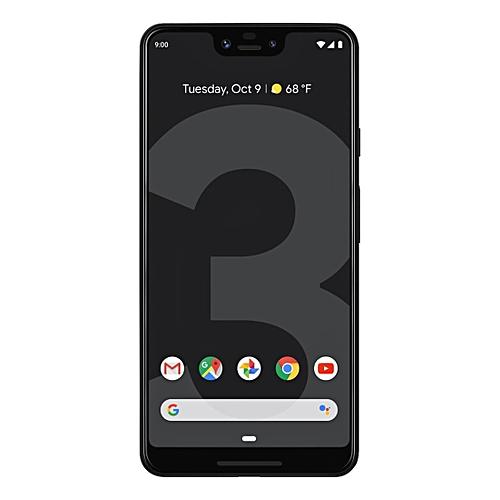 Pixel 3 XL 6.3-Inch (4GB, 64GB ROM), 12.2MP + 8MP 4G Smartphone - Just Black