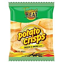 Crisps Cheese & Onion - 400g