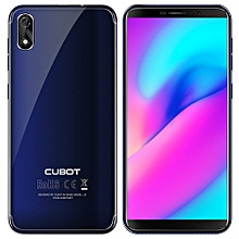 Cubot J3 3G Smartphone 5.0 inch Android GO MT6580 Quad Core 1.3GHz 1GB RAM 16GB ROM 8.0MP Rear Camera 2000mAh Detachable Battery Fingerprint Scanner-BLUE