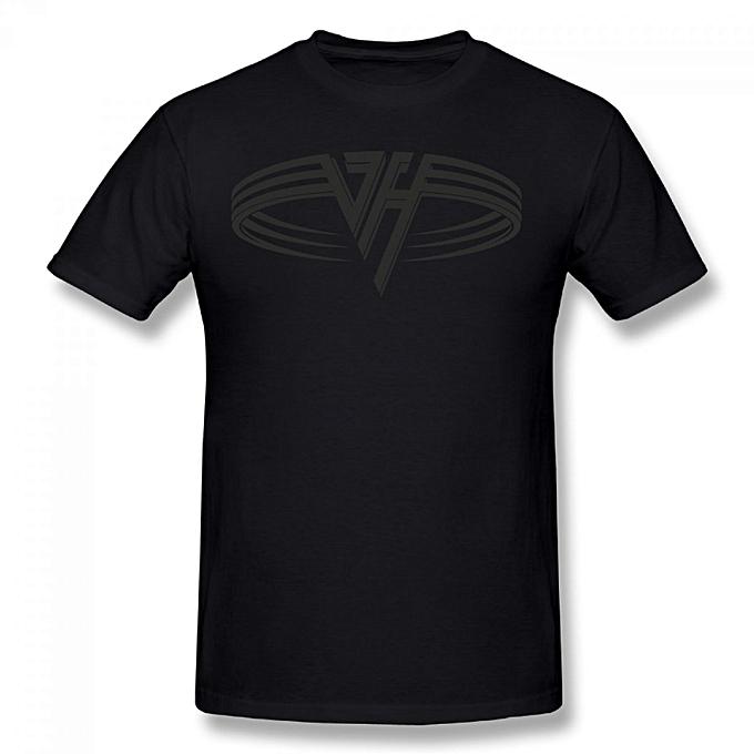 Buy Generic Van Halen Logo Mens Cotton Short Sleeve Print T Shirt