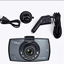 DVR Driving Recorder Loop Recording Motion Detection for Automobile black