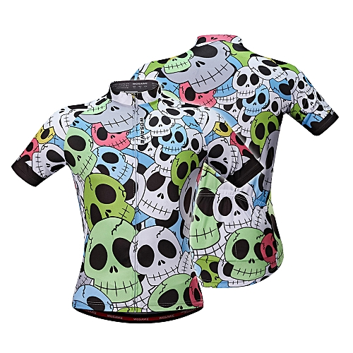Generic Men s Summer Cycling Jersey Breathable Short Sleeve Full Zip Bike  Shirt MTB Bicycle Riding Jersey   Best Price  786aa05b5
