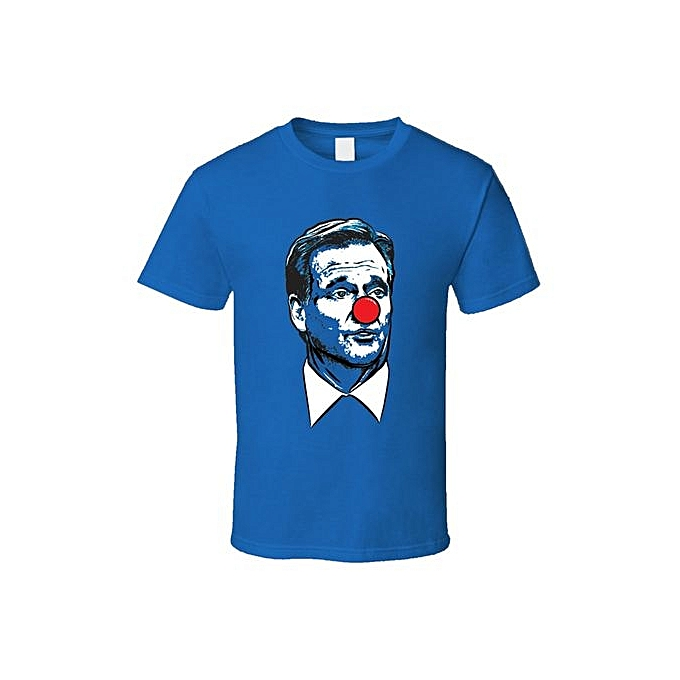 Mens Roger Goodell Clown T-shirt Gift Tee Funny Clothing England Football 45b978133