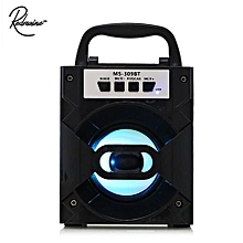 MS - 309BT Bluetooth Portable Speaker With LED Lights 3 Inch Driver Unit