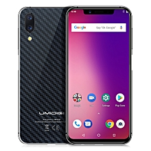 """One - 5.9"""" 4G Android 8.1 4GB/32GB Side Fingerprint Face ID - Black"""